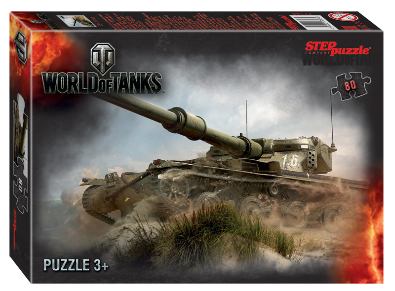 Steppuzzle  Пазлы    80 77168 Wargaming. World of Tanks