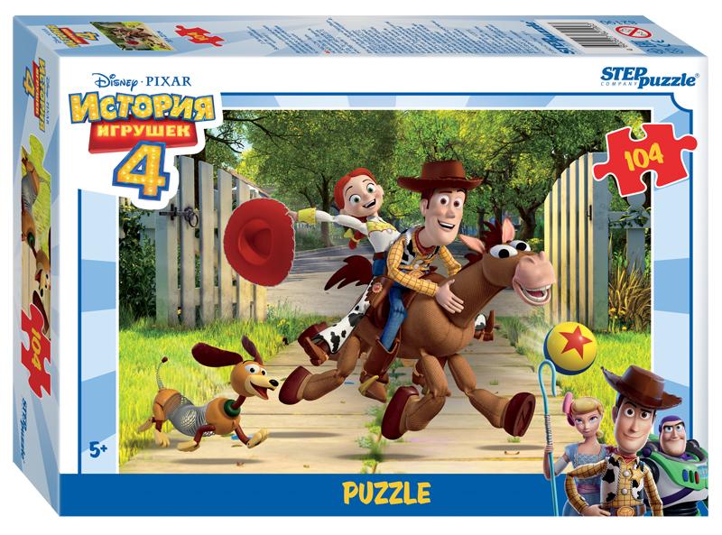 Steppuzzle  Пазлы   104 82190 Disney Pixar. История игрушек - 4