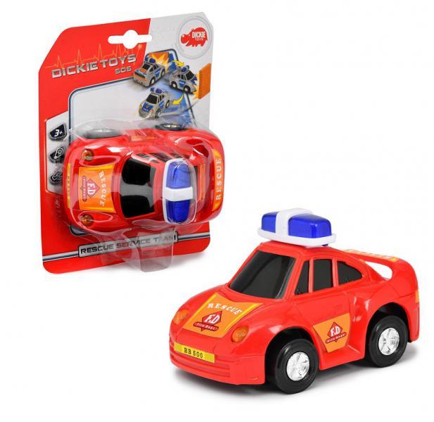 Dickie Toys 3341008-1Машинка службы спасения красный 12 см свет