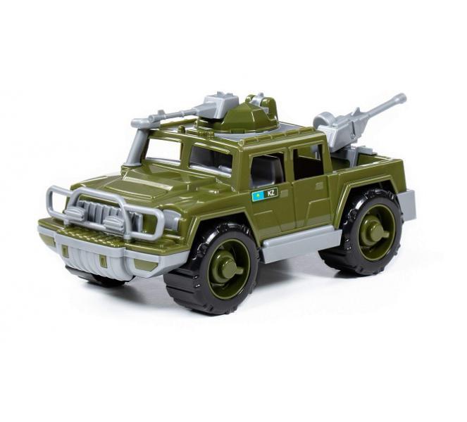 Полесье  63960 Машина Защитник, Пикап военный с 2-мя пулемётами (KZ)