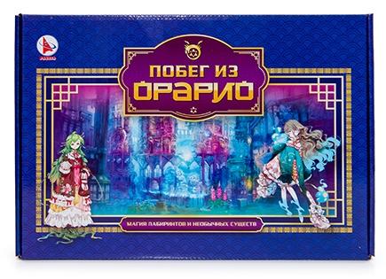 ТМ Ракета  Настольная игра Р3308 Побег из Орарио