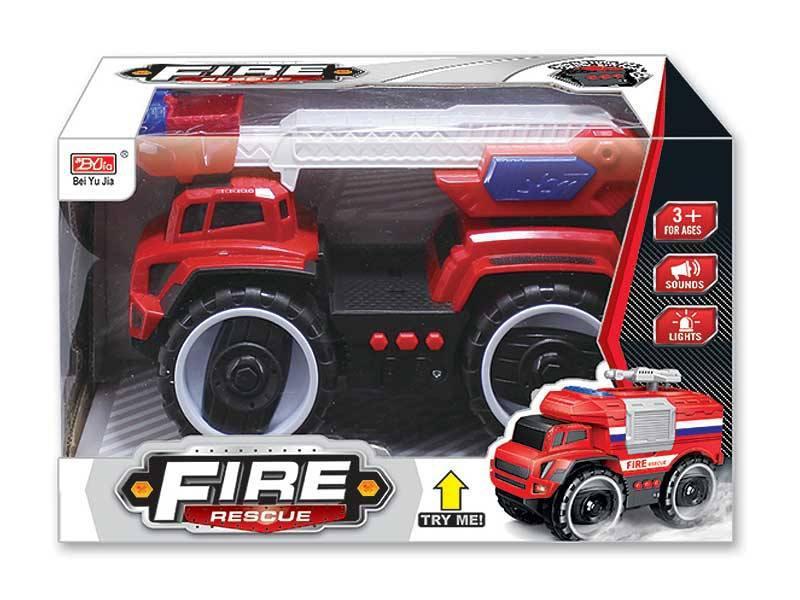 Наш Китай  Машина фрикц. 5577-2 Пожарная свет, звук в. к 27. 5х13х17см BF126289 24. 48