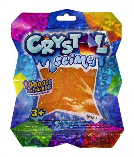 Slime  S130-40 Crystal-Slime, апельсиновый, 90г