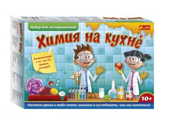 Ранок. Набор для экспериментов 12114136 Химия на кухне