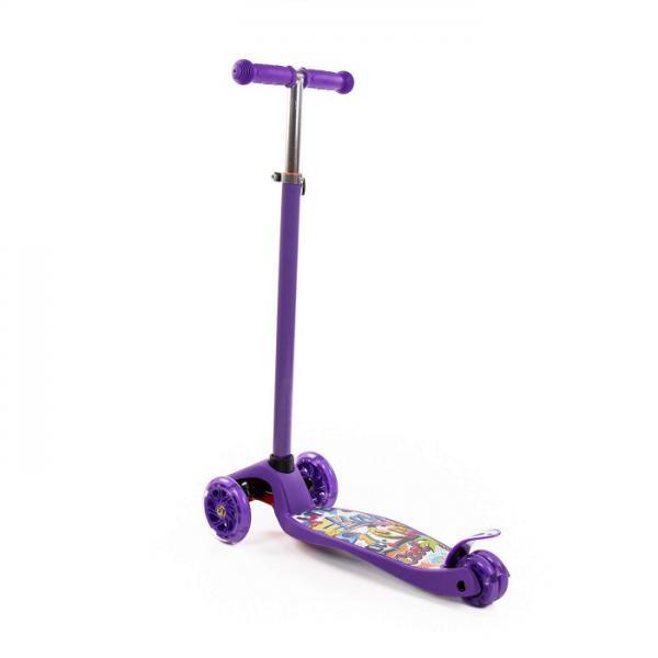 Полесье  Scooter 0072-V1(Ф) Детск. самокат (с наклейкой V1) фиолетовый в. к