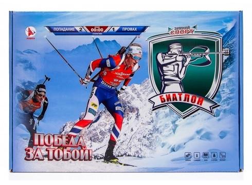 ТМ Ракета  Настольная игра Р3500 Биатлон. Зимний спорт