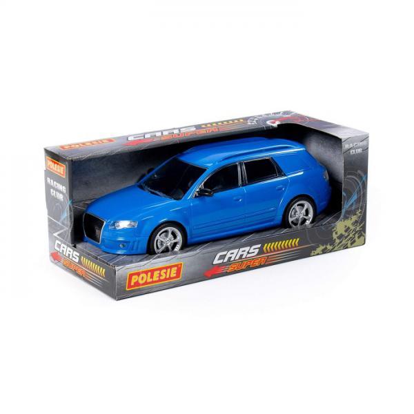 Полесье  87942 Легенда-V3, автомобиль легковой инерц., синий в. к