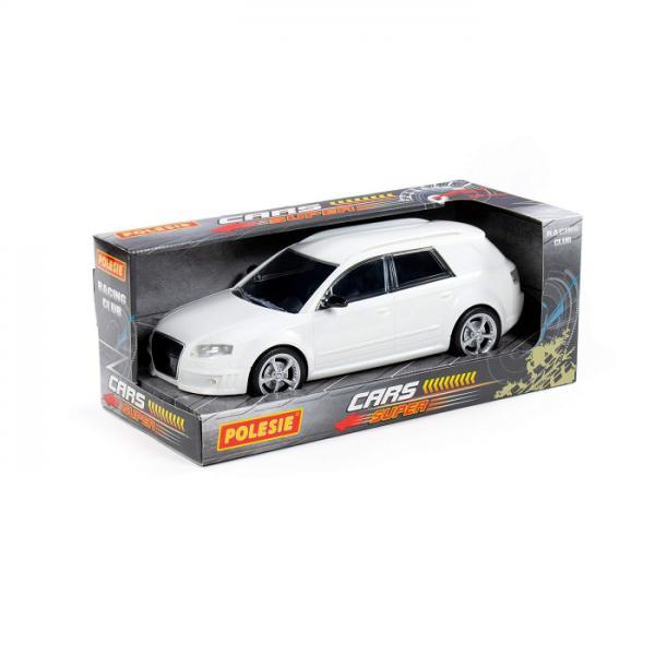 Полесье  87959 Легенда-V3, автомобиль легковой инерц., белый в. к
