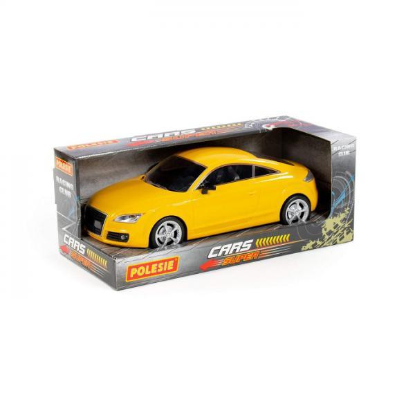 Полесье  87973 Легенда-V4, автомобиль легковой инерц., жёлтый в. к