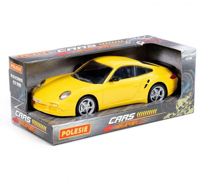 Полесье  89052 Легенда-V6, автомобиль легковой инерц., жёлтый в. к
