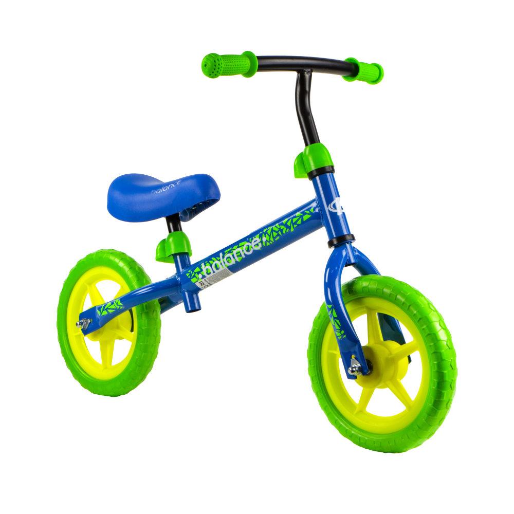 Беговел Navigator 10003 Balance, колеса 10д., стальная рама, пласт. обода, EVA покрышки, мальчик