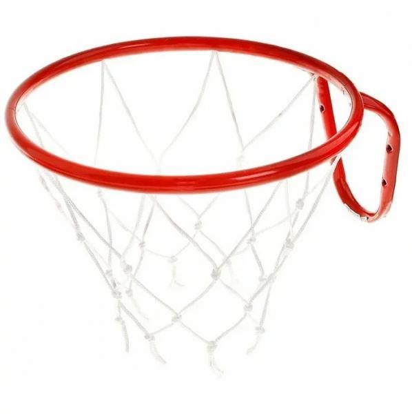Корзина баскетбол. №5, d 380мм, с упором и сеткой КБ51 00-00001185