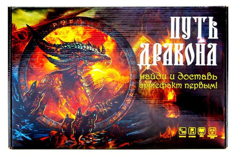 ТМ Ракета  Настольная игра Р3555 Путь Дракона (с карточками)