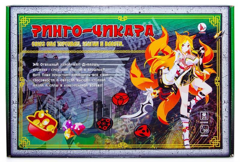 ТМ Ракета  Настольная игра Р3548 Ринго-Чикара (с карточками)