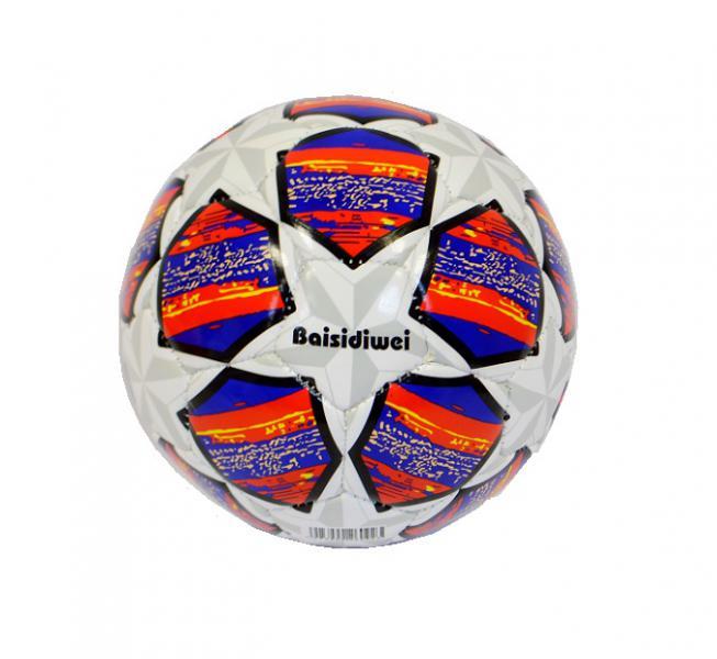 Наш Китай  Мяч футбол. d15см SC168-10 звезда (сер. + син. ) в. с EB047193-6