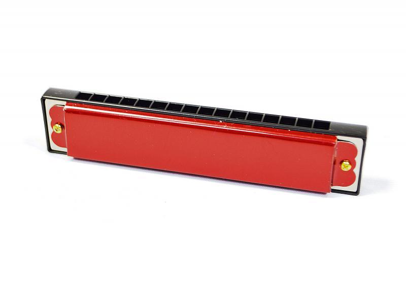Наш Китай  Губная гармошка красная в. к 3. 5х3х14см EC024331 480. 480