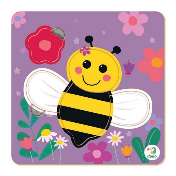 DoDo Пазл-сортер 300358 Пчелка 5эл.