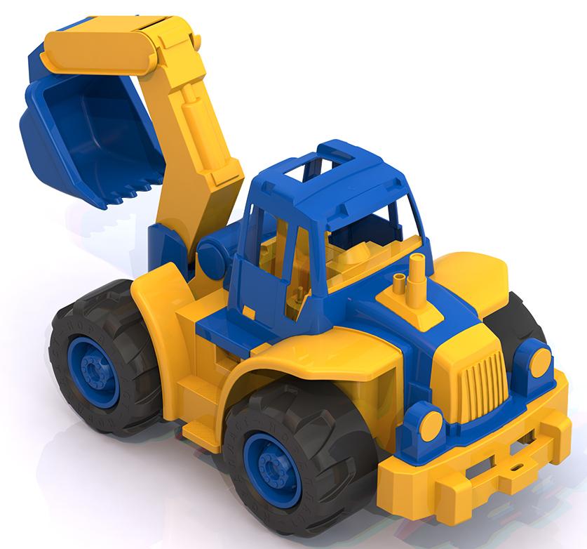 Нордпласт 298 Трактор Богатырь синий  мини 1. 6