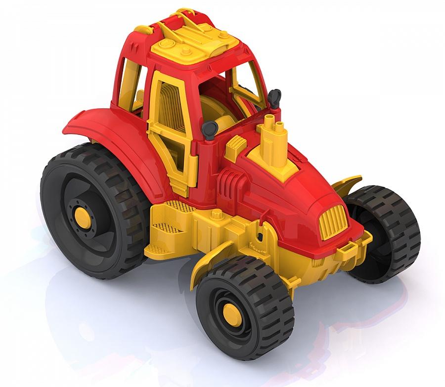 Нордпласт 395 Трактор красный