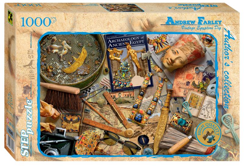 Steppuzzle  Пазлы  1000 79546 Авторская коллекция. Старинные египетские артефакты