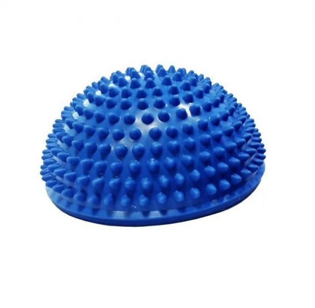 Тех-Пласт  И06018 Полусфера с шипами 150мм в. п синий