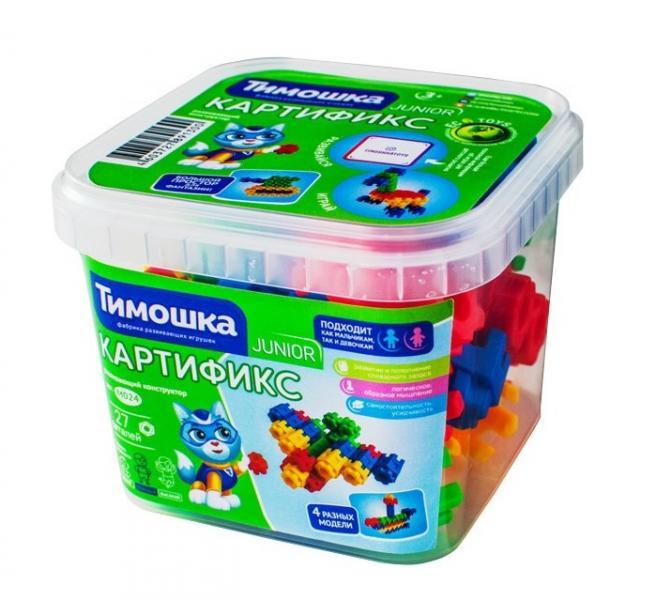 ТИМОШКА  Констр.  ПБ-024 Junior Картификс 27 дет.