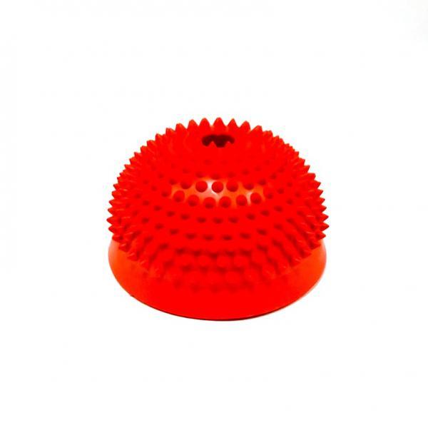 Тех-Пласт  И06044 Полусфера утяжеленная с отверстием 150мм красный