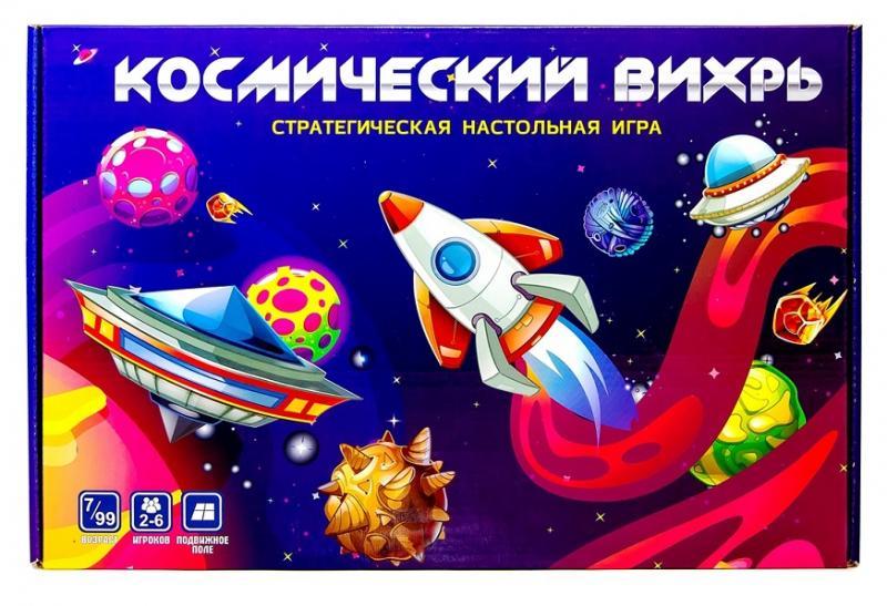ТМ Ракета  Игра-ходилка 3647 Космический вихрь