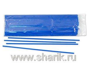 Весёлая затея  1302-0037 Палочка синяя 100шт. уп, цена за шт.