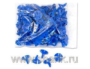 Весёлая затея  1302-0189 Розетка универсальная синяя уп-100шт, цена за шт.