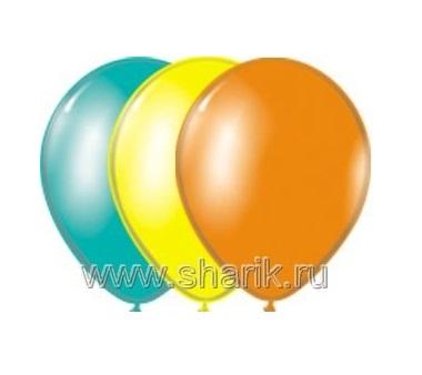 Шар 1101-0031 10д. В75 пастель ассорти экстра (Л59) 50шт. уп цена за шт. (Европа уно Трейд)