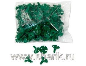 Розетка 1302-0187 универсальная зеленая 100шт. уп цена за шт. (Европа уно Трейд)