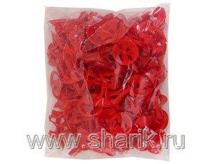 Весёлая затея  1302-0188 Розетка универсальная красная 100шт. уп цена за шт.