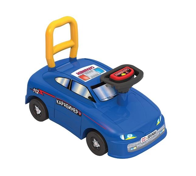 Нордпласт 431001 Машина-каталка Авто Carabinieri 4шт. кор