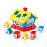 Полесье  64431 Логический домик Смурфики с 6 кубиками №3