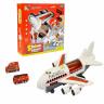 Наш Китай  Игровой набор HS8005B Пожарная часть, с самолетом, металл., инерц., свет, звук, в. к 42х13х35см BF129698 1. 12